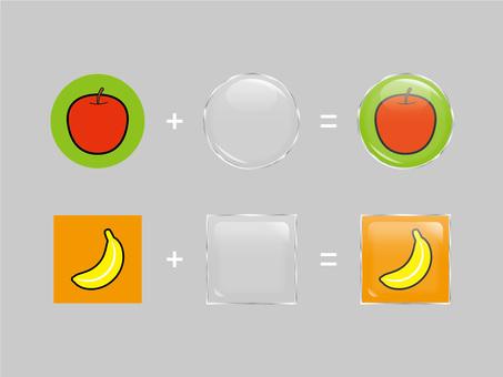 Pin badge-like processing
