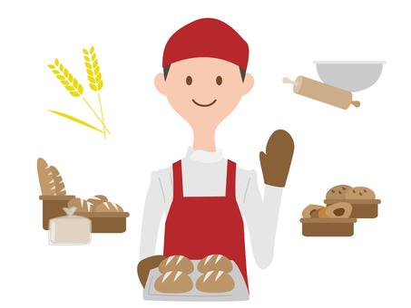 Bakery men
