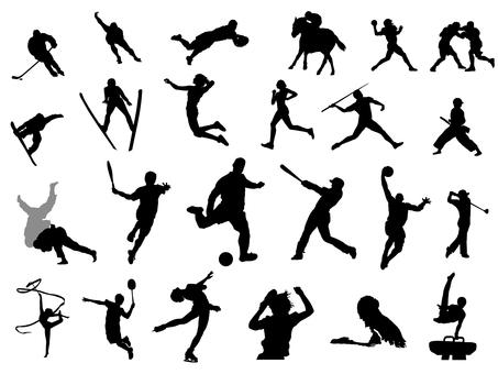 スポーツ_シルエット
