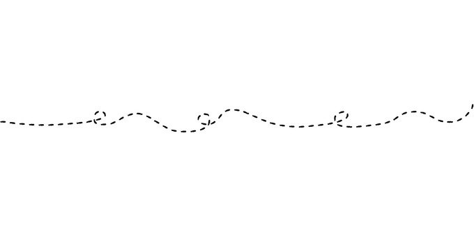 Phantom line connecting line