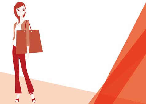 Women skirt shopping