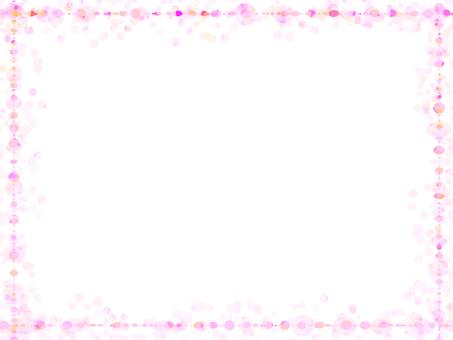 Dot frame 4 (pink)