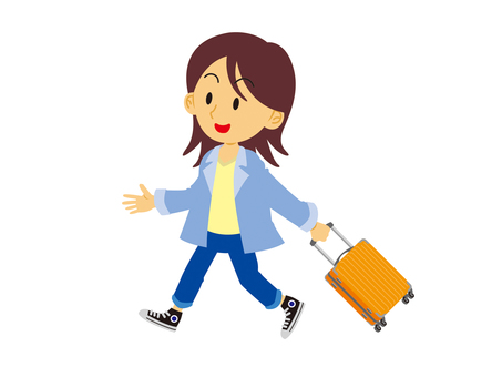 Woman to travel