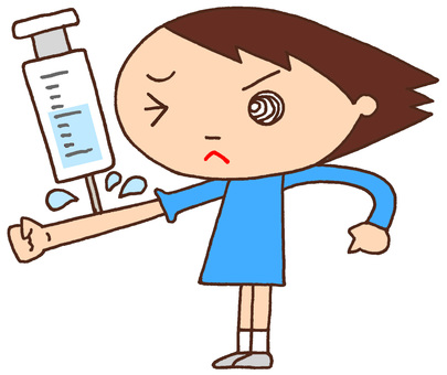 Primary schoolcharacter · preventive injection