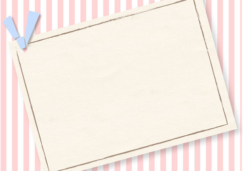 Frame Summer Stripes Background Pink Pink