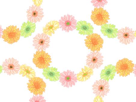 Gerbera flower crown 02