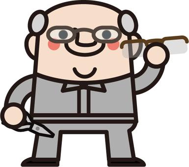 Uncle fairy glasses craftsman