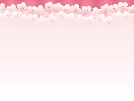 Plum pattern background 5