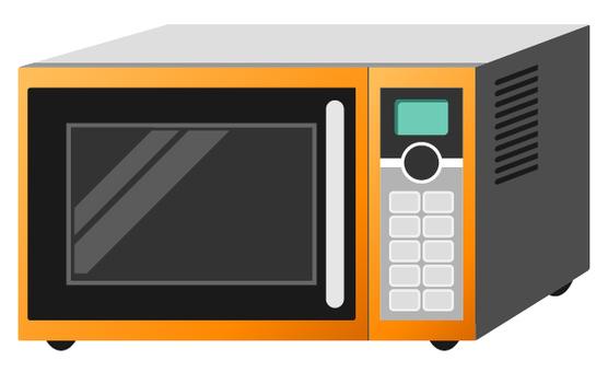 Microwave oven (Orange)