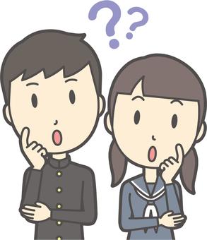 Junior high school student gender set-049-bust