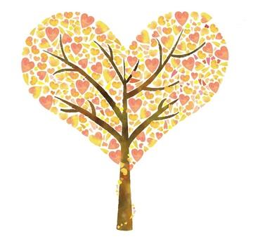 Eco-heart tree