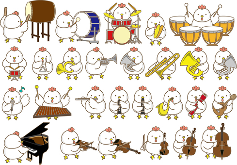 Chickens to play
