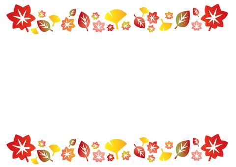 낙엽 프레임