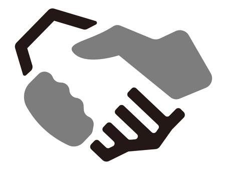 握手 アイコン