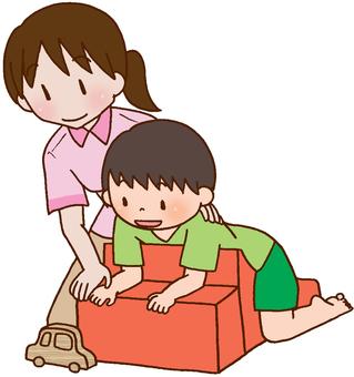 【Rehabilitation】 Child, developmental disorder, treatment