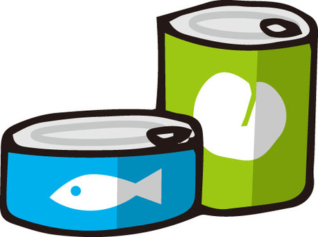 Canned (blue / green)