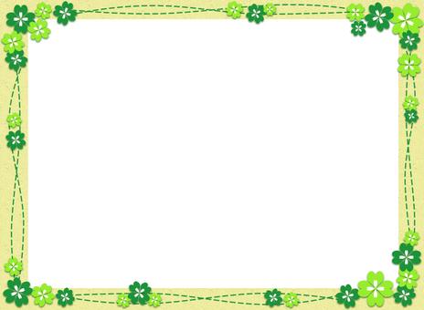 Clover frame 2
