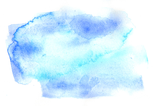 Watercolor texture light blue 2