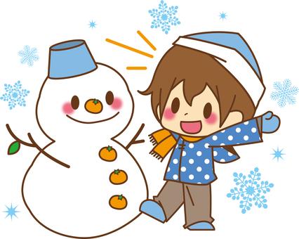 Boys * Snowman