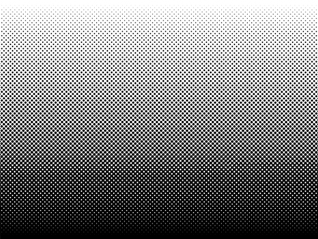 Halftone dot gradation