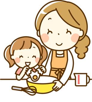 자녀와 함께 요리