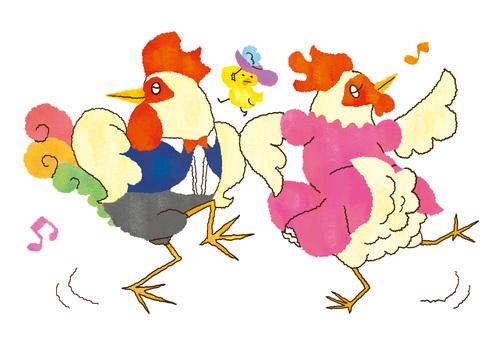 C _ chicken dance