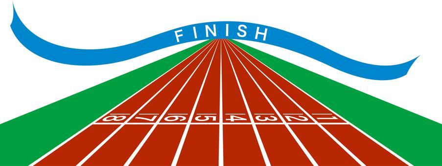 Finish Athletic Track