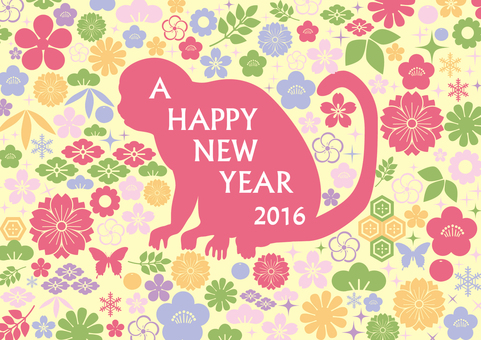 2016 New Year's card design 4