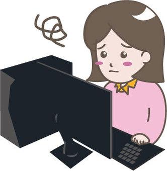 Desktop women (difficulties)