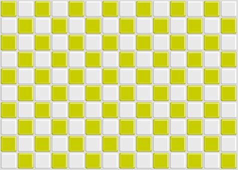 Checkered Tile Yellow