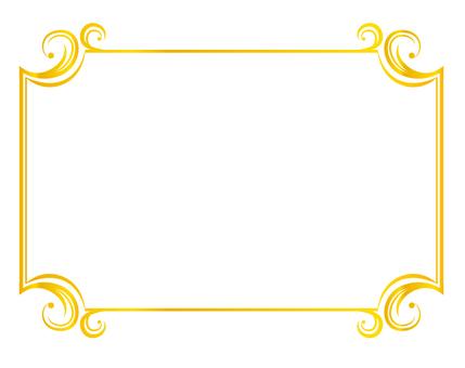 Gold decoration ruling