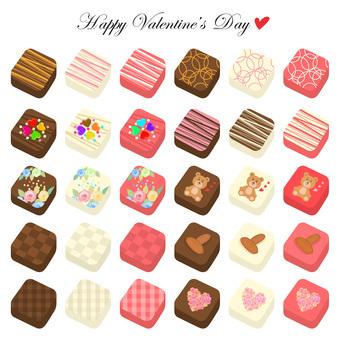 情人節巧克力套