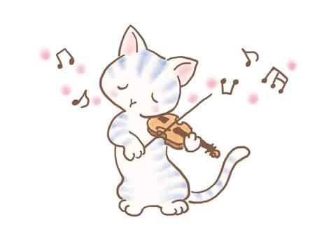 バイオリンねこ34