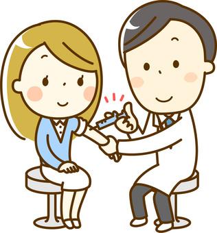予防接種_女性