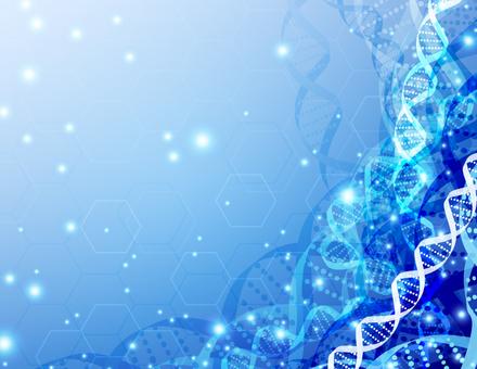 DNA醫療圖像背景_藍色
