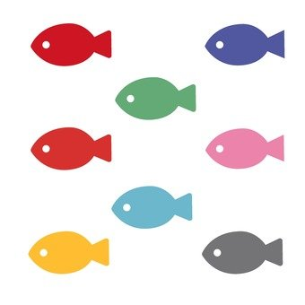 A group of small fish