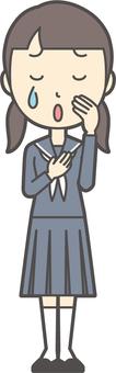 初中水手女子-170-全身