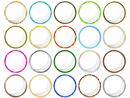 Real Round Frame Lots Download