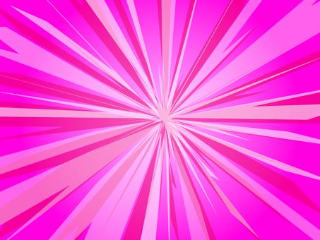 Hakko pink pop-out background