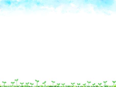수채화 귀여운 프레임
