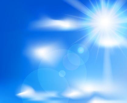 텍스처 여름의 태양