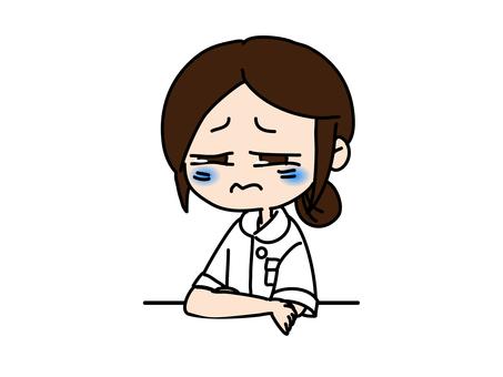 Melancholy nurse