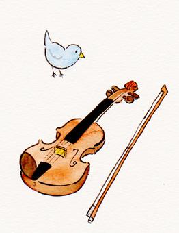 작은 새와 바이올린 1