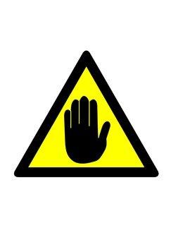 Hand mark