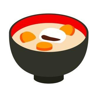 An egg rice cake 1