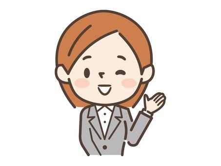 Woman suit information