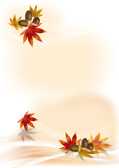 Autumn leaves & acorns 12