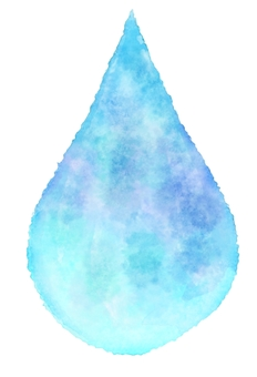 Watercolor drops · Water drops