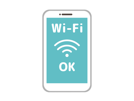 Wi-Fi connection OK Smartphone