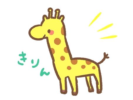 Loose giraffe